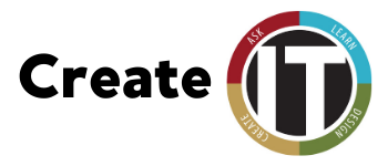 Create IT with the IT logo