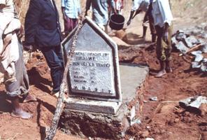 Burial 1headstone