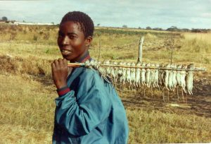 Boy with Mbeba